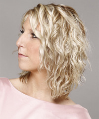 Medium Curly Casual Hairstyle - click to view hairstyle information
