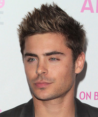 Zac Efron Hairstyle - click to view hairstyle information
