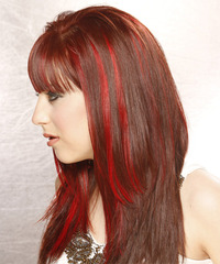 Alternative Long Straight Hairstyle - click to view hairstyle information