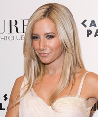 Ashley Tisdale Long Straight Formal  - side view