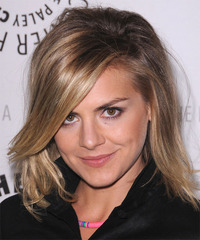 Eliza Coupe - Medium Straight - side view