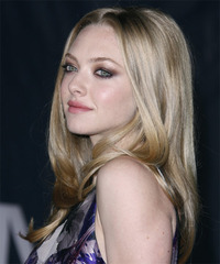 Amanda Seyfried Long Straight Formal  - side view