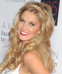 Delta Goodrem - Long Wavy - side view