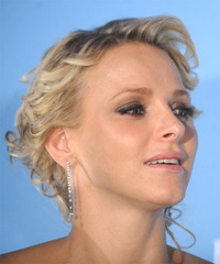 Princess Charlene of Monaco Hairstyle - click to view hairstyle information