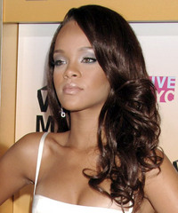 Rihanna - Long Wavy - side view