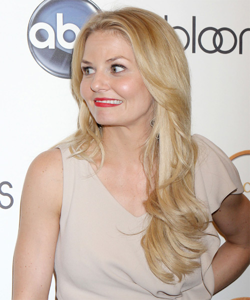 Jennifer Morrison Long Straight Hairstyle - Light Blonde (Golden) - side view