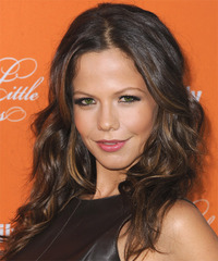 Tammin Sursok - Long Wavy - side view