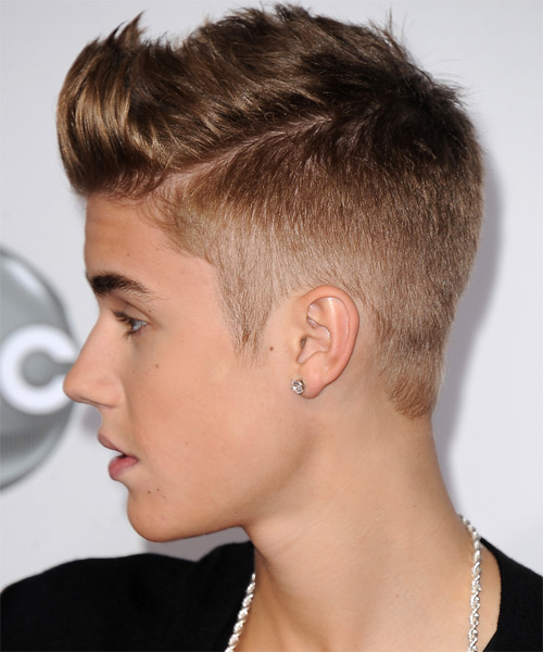 Justin Bieber -  Hairstyle - side view