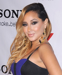 Adrienne Bailon - Long Wavy - side view