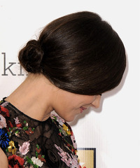 Marion Cotillard - Updo Long Straight - side view