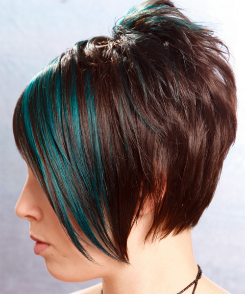 Short Straight Alternative - side view