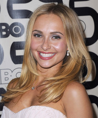 Hayden Panettiere Long Straight Casual  - side view
