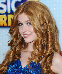 Katherine McNamara - Long Curly - side view
