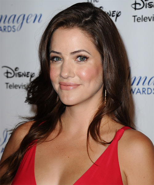 Julie Gonzalo Long Straight Casual - side view