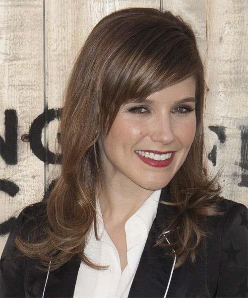 Sophia Bush Long Straight Hairstyle - side view