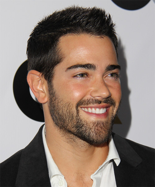 Jesse Metcalfe Short Straight Casual Hairstyle - Medium Brunette Hair Color - side view