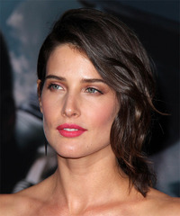 Cobie Smulders Half Up Medium Straight Formal  - side view