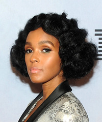 Janelle Monae - Short Curly - side view