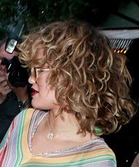 Rita Ora - Medium Curly - side view