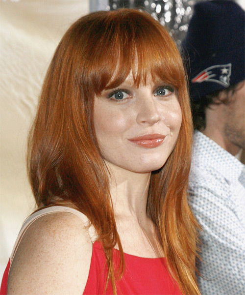 Lauren Ambrose Long Straight Hairstyle - side view