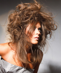 Long Curly Alternative Hairstyle - click to view hairstyle information