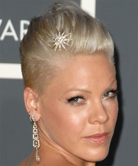 Pink - Short Straight - side view