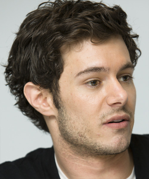 Adam Brody Short Wavy Casual - side on view