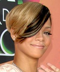 Rihanna - Short Straight - side view