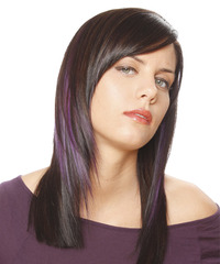 Casual Long Straight Hairstyle - click to view hairstyle information