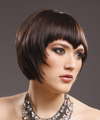 Alternative Short Straight Hairstyle - click to view hairstyle information