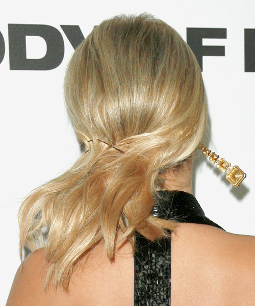 Aubrey O Day Updo Hairstyle - side view 2
