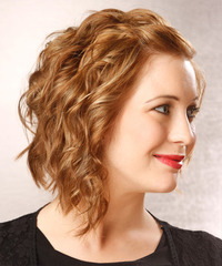 Medium Wavy Alternative Hairstyle - click to view hairstyle information