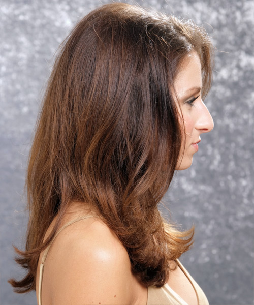 Long Wavy Formal  - side on view