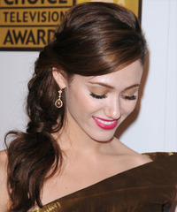 Emmy Rossum Hairstyle - click to view hairstyle information