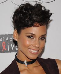 Alicia Keys Hairstyle