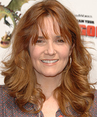 Lea Thompson Long Wavy Casual