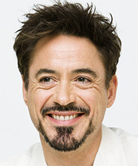 Robert Downey Jr Short Straight Formal
