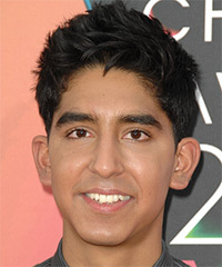 Dev Patel Hairstyle - click to view hairstyle information