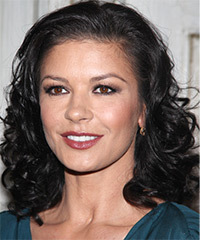 Catherine Zeta Jones Hairstyle - click to view hairstyle information