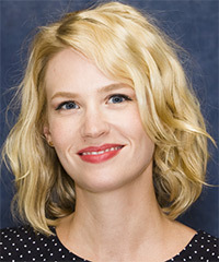 January Jones Hairstyle - click to view hairstyle information