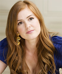 Isla Fisher Long Wavy Casual