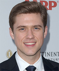 Aaron Tveit Hairstyle - click to view hairstyle information