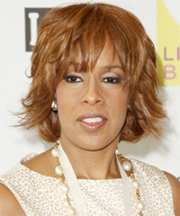 Gayle King Hairstyle - click to view hairstyle information