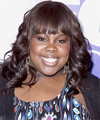 Amber Riley Hairstyle - click to view hairstyle information