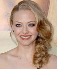 Amanda Seyfried Updo Long Curly Formal