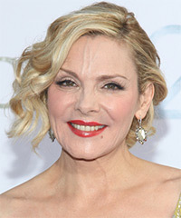 Kim Cattrall - Updo Medium Curly
