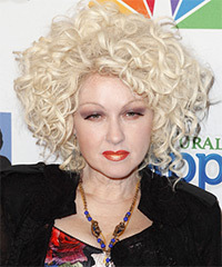 Cyndi Lauper - Medium Curly