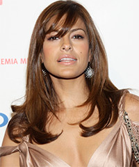 Eva Mendes Long Straight Formal
