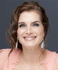 Brooke Shields - Updo Long Curly