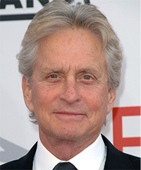 Michael Douglas Hairstyle - click to view hairstyle information